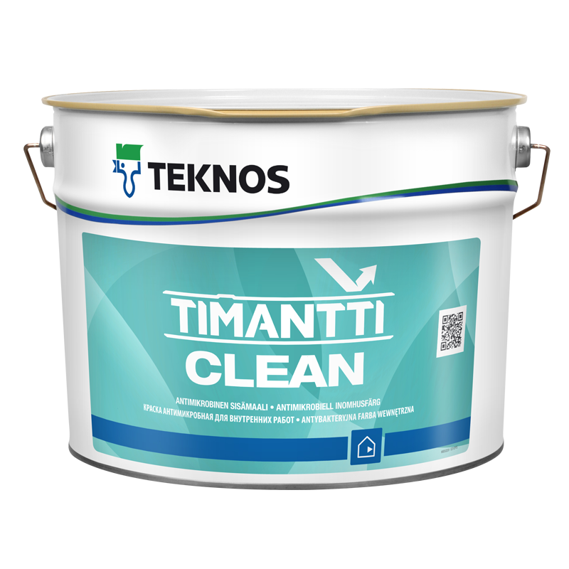Teknos (Текнос) TIMANTTI CLEAN PM1 антимикробная краска