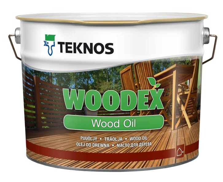 Teknos (Текнос) WOODEX WOOD OIL масло